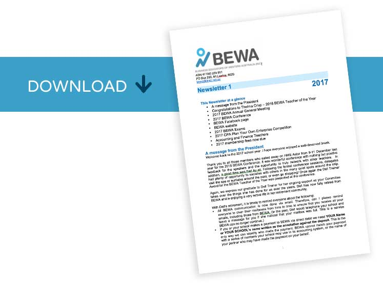 Bewa Newsletter